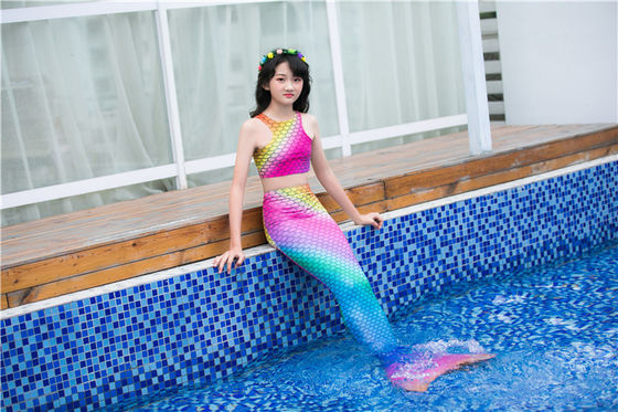 China good quality Unbreakable Swimmable Mermaid Tails With Scales 13 Sizes Optional on sales