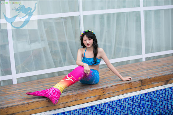 China Breathable Children's Swimming Mermaid Tail Comfortable Seawater Proof factory