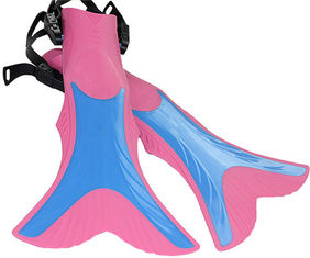 Adjustable Mermaid Tail Fin Flipper For Youth Children's Diving Training