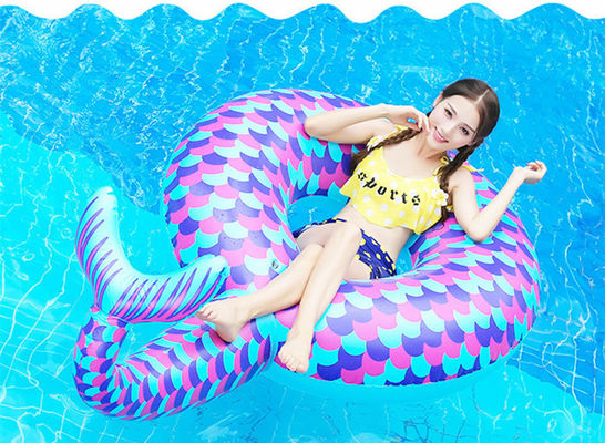 Giant Mermaid Pool Float Vinyl Summer Pool / Beach Toy For Kids Adults