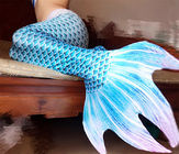 Smooth Easy Drying Ladies Mermaid Tail , Womens Mermaid Tail For Swimming supplier