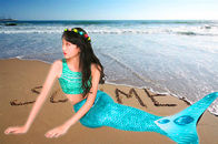3D Scales Printed Ladies Mermaid Tail , Adult Mermaid Tail With Monofin supplier