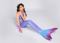 Pink Turquoise Childrens Mermaid Tails , Custom Mermaid Tails Easy Drying