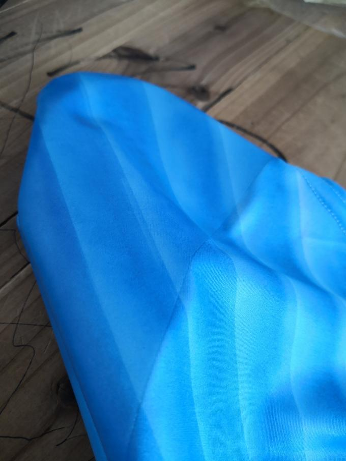 Anti -UV Realistic Looking Mermaid Tails Aqua Color Lasting Long Time