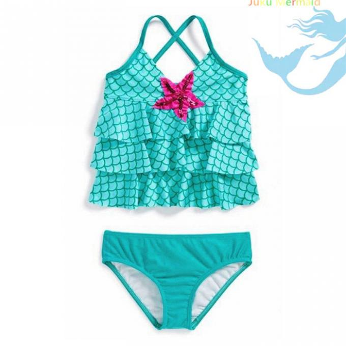 Girls / Women Bikini Free Surfing Mermaid Tail Baby Costume / Kids Swimwear